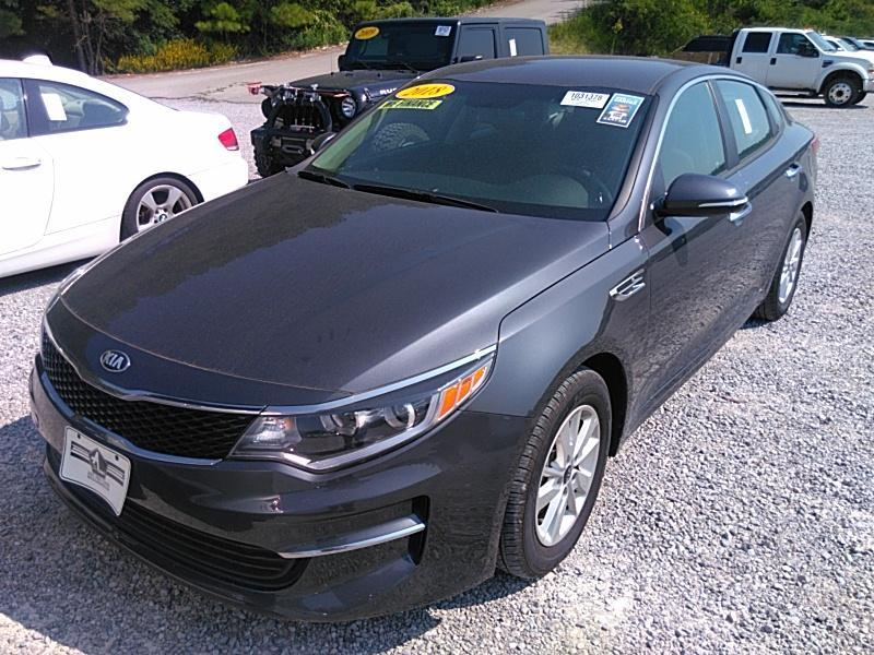 2018 Kia Optima 2.4. Lot 999186799633 Vin KNAGT4L35J5220268