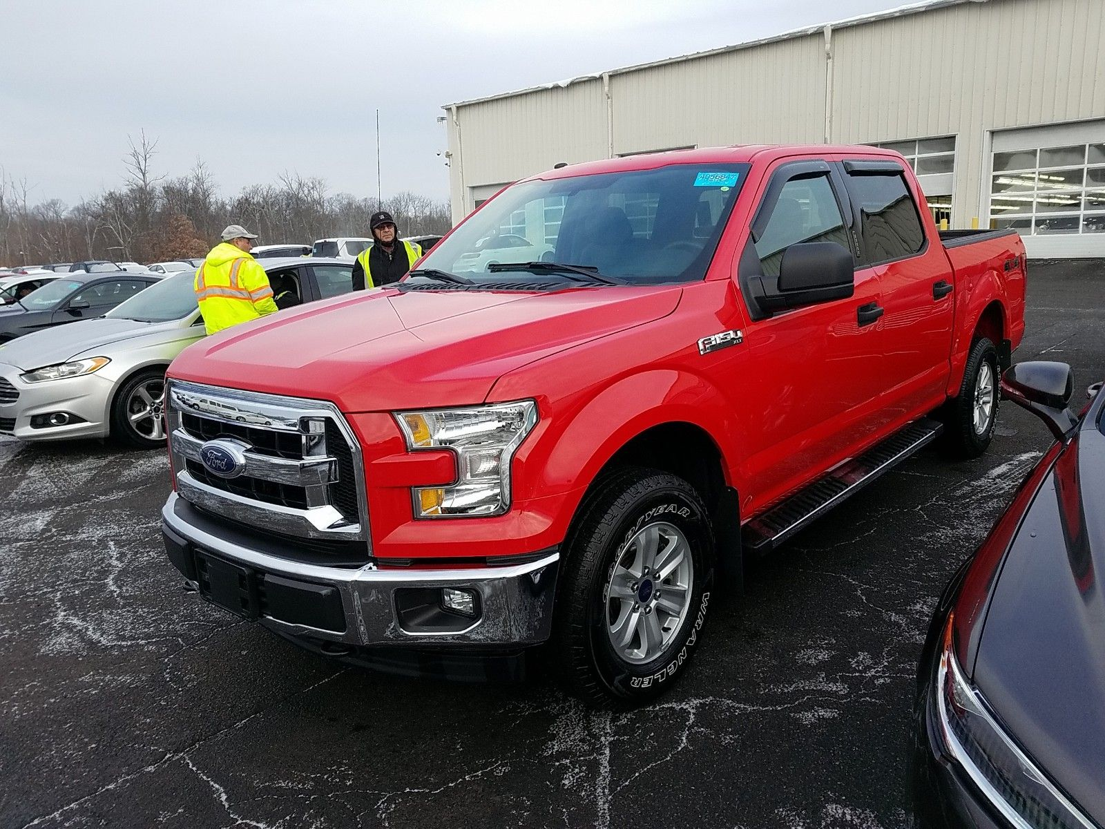 2017 Ford F-series 5.0. Lot 99911942443 Vin 1FTEW1EF2HKD75539