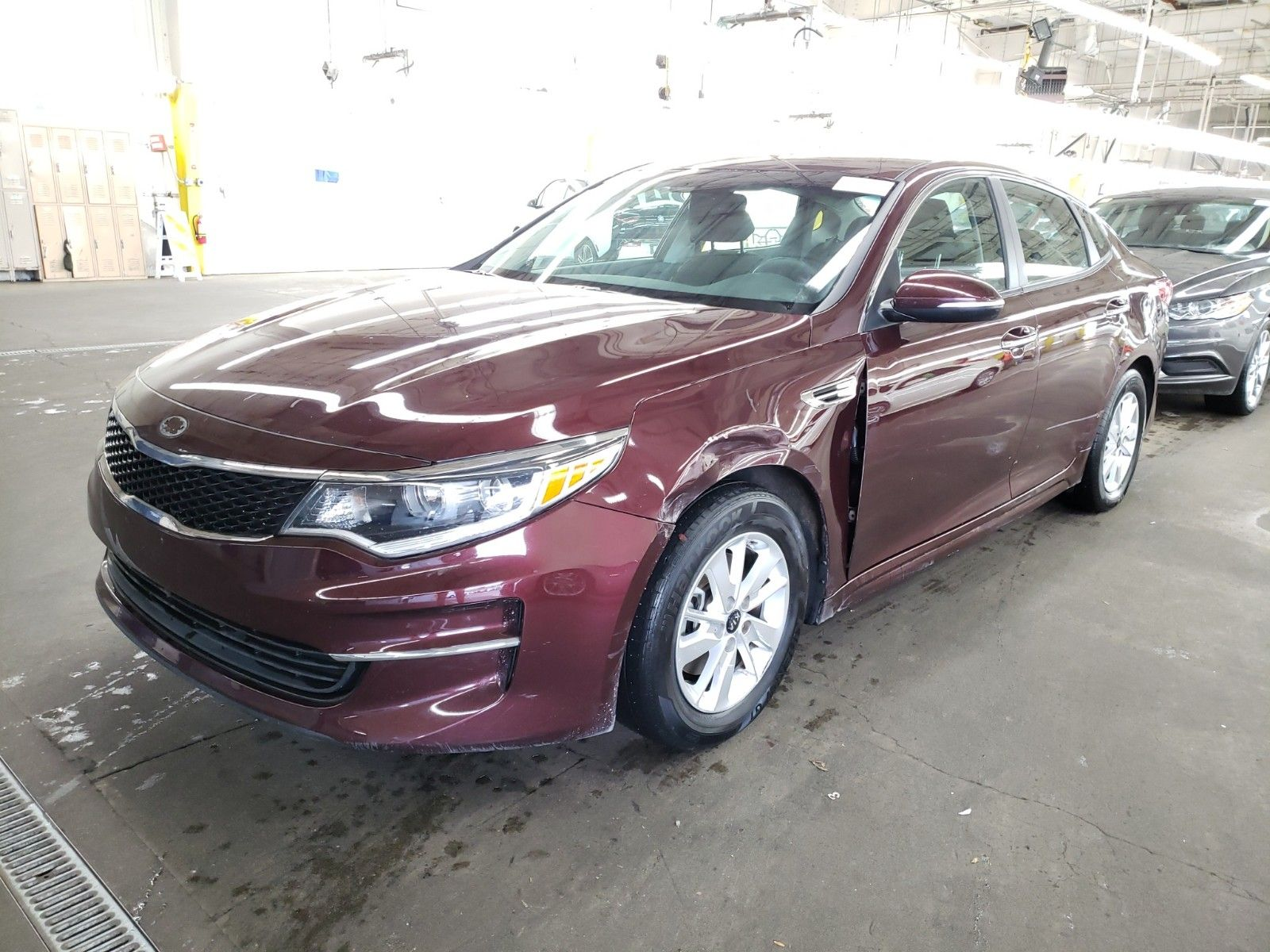 2018 Kia Optima 2.4. Lot 99912875870 Vin 5XXGT4L31JG208438