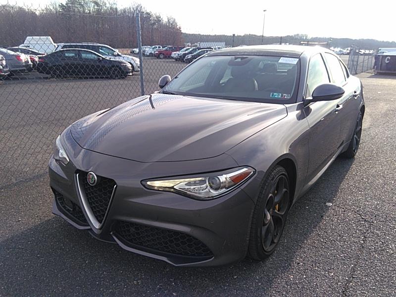 2018 Alfa romeo Giulia 2.0. Lot 99913512685 Vin ZARFAEEN4J7575645