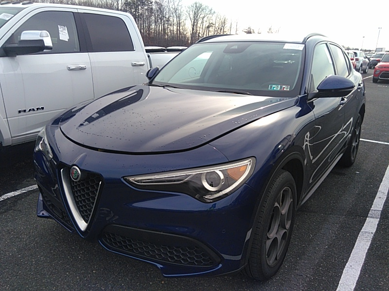 2018 Alfa romeo Stelvio 2.0. Lot 99913512686 Vin ZASFAKPN2J7B68047
