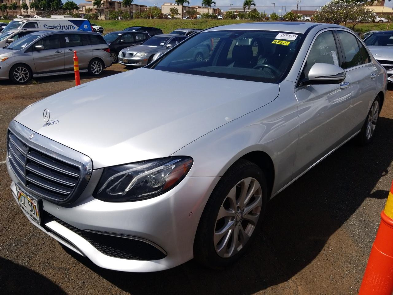 2017 Mercedes-benz E-class 2.0. Lot 99911006226 Vin WDDZF4JBXHA099578