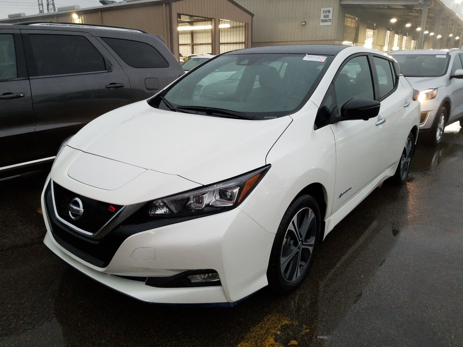 2019 Nissan Leaf . Lot 99917930638 Vin 1N4BZ1CP0KC308645
