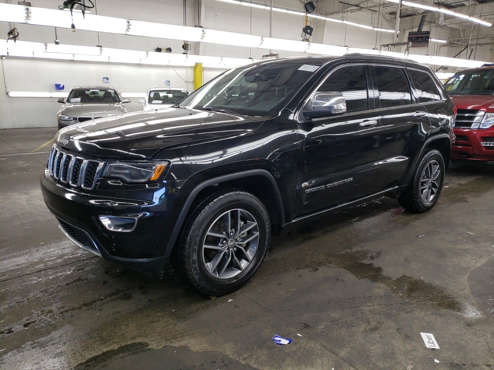 2017 Jeep Grand cherokee 3.6. Lot 99912904681 Vin 1C4RJEBG1HC779298