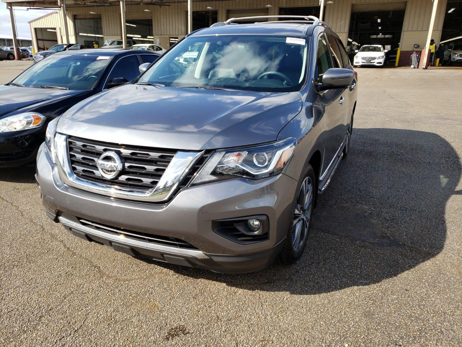 2019 Nissan Pathfinder 3.5. Lot 99917950860 Vin 5N1DR2MN5KC625340