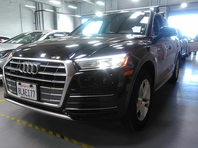2019 Audi Q5 2.0. Lot 999186315960 Vin WA1ANAFYXK2119457
