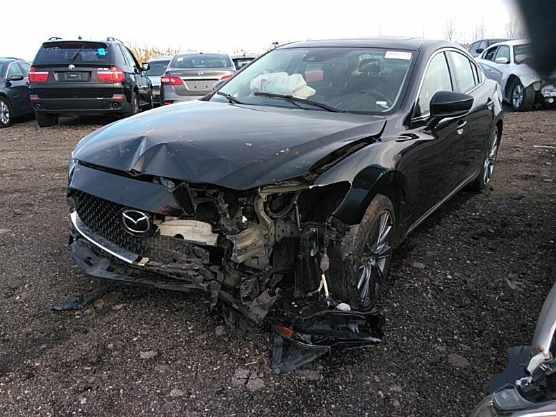 2019 Mazda6 2.5. Lot 999186489635 Vin JM1GL1VM4K1500327