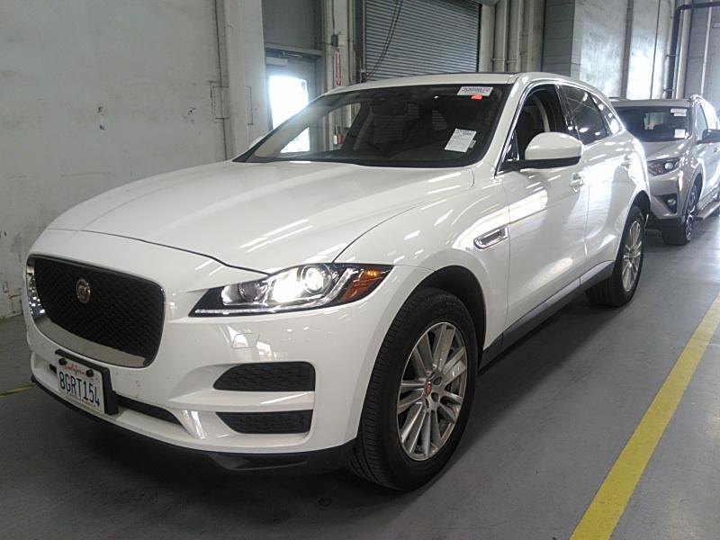 2019 Jaguar F-pace 2.0. Lot 999186776634 Vin SADCK2GX8KA391731