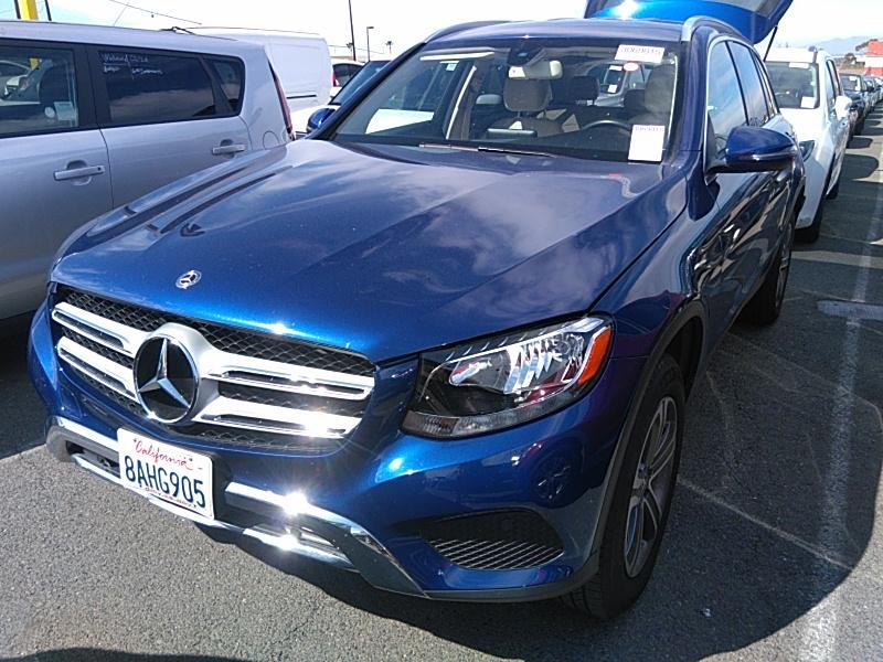 2018 Mercedes-benz Glc 2.0. Lot 999186776636 Vin WDC0G4JB8JV042711