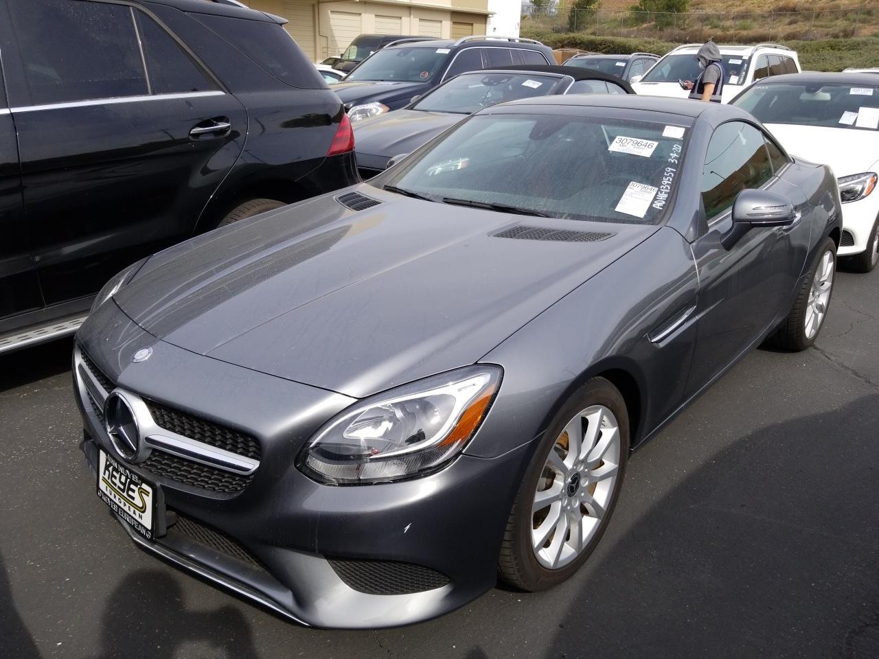 2017 Mercedes-benz SLC 2.0. Lot 99913796674 Vin WDDPK3JA0HF139559