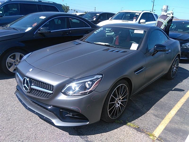 2017 Mercedes-benz SLC 2.0. Lot 99913800059 Vin WDDPK3JA7HF138912