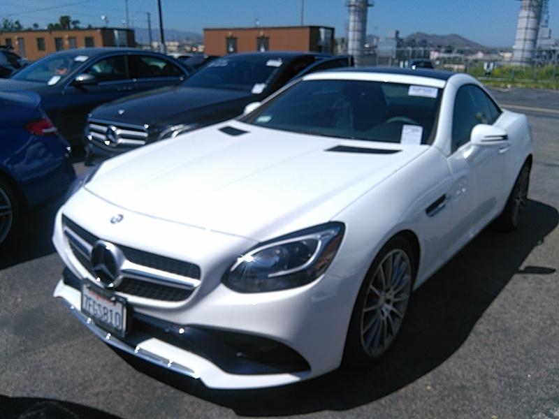 2017 Mercedes-benz SLC 2.0. Lot 99913801434 Vin WDDPK3JA9HF136868