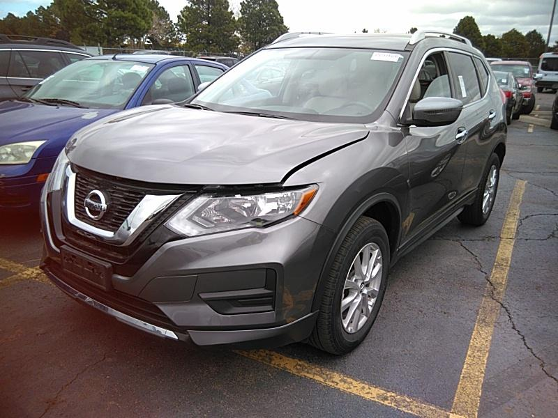 2017 Nissan Rogue 2.5. Lot 99913244706 Vin KNMAT2MV4HP528687