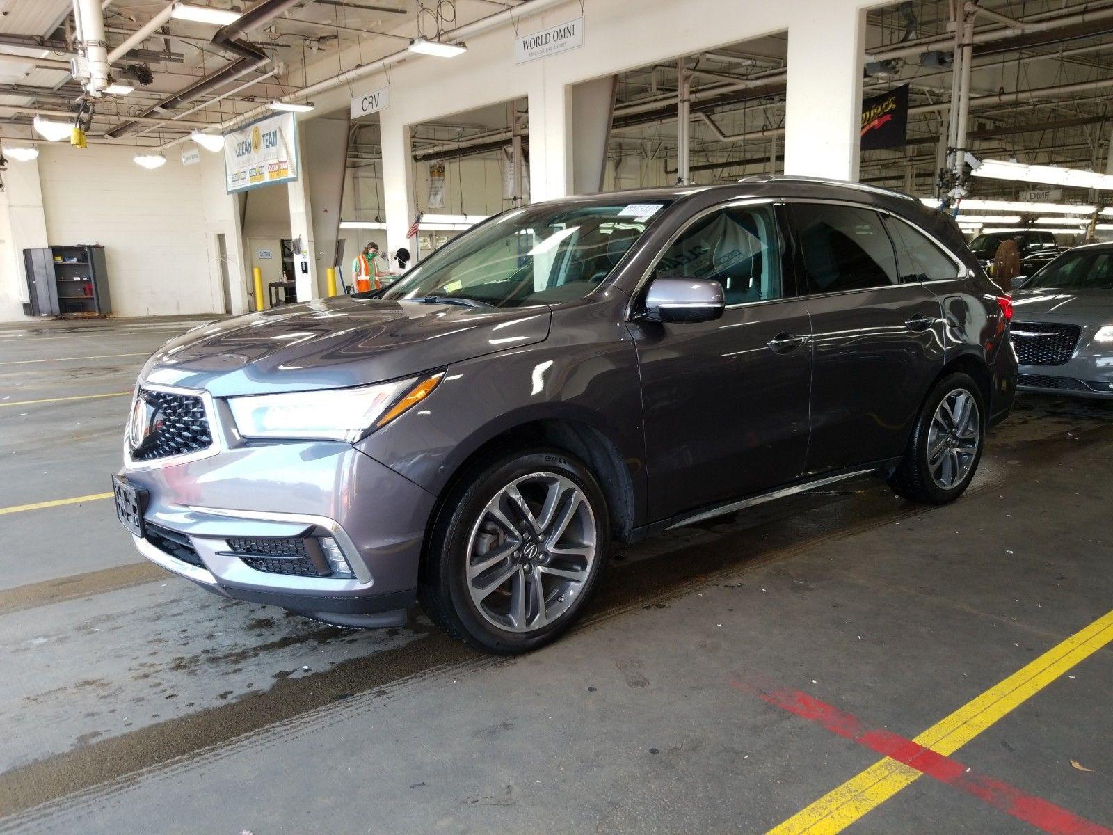 2017 ACURA MDX AWD V6 ADV ENTER