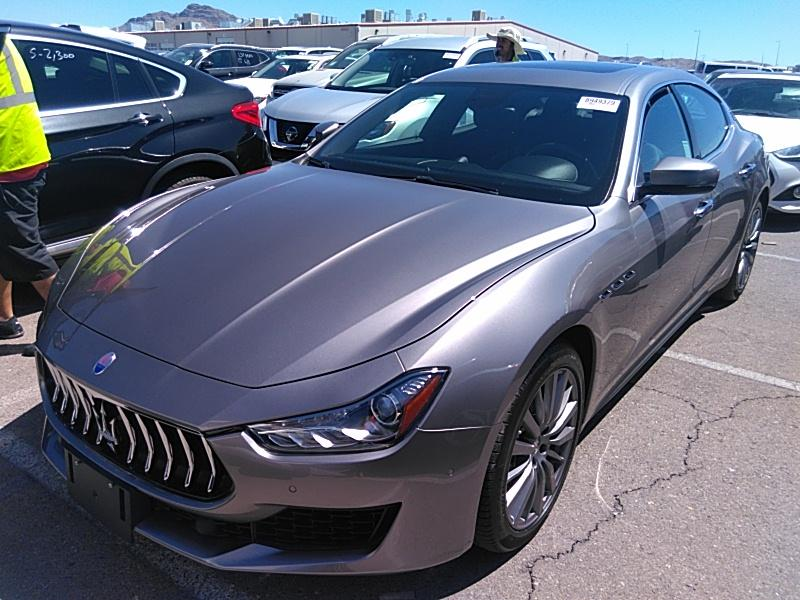 2019 Maserati Ghibli 3.0. Lot 99913393234 Vin ZAM57XSAXK1319480