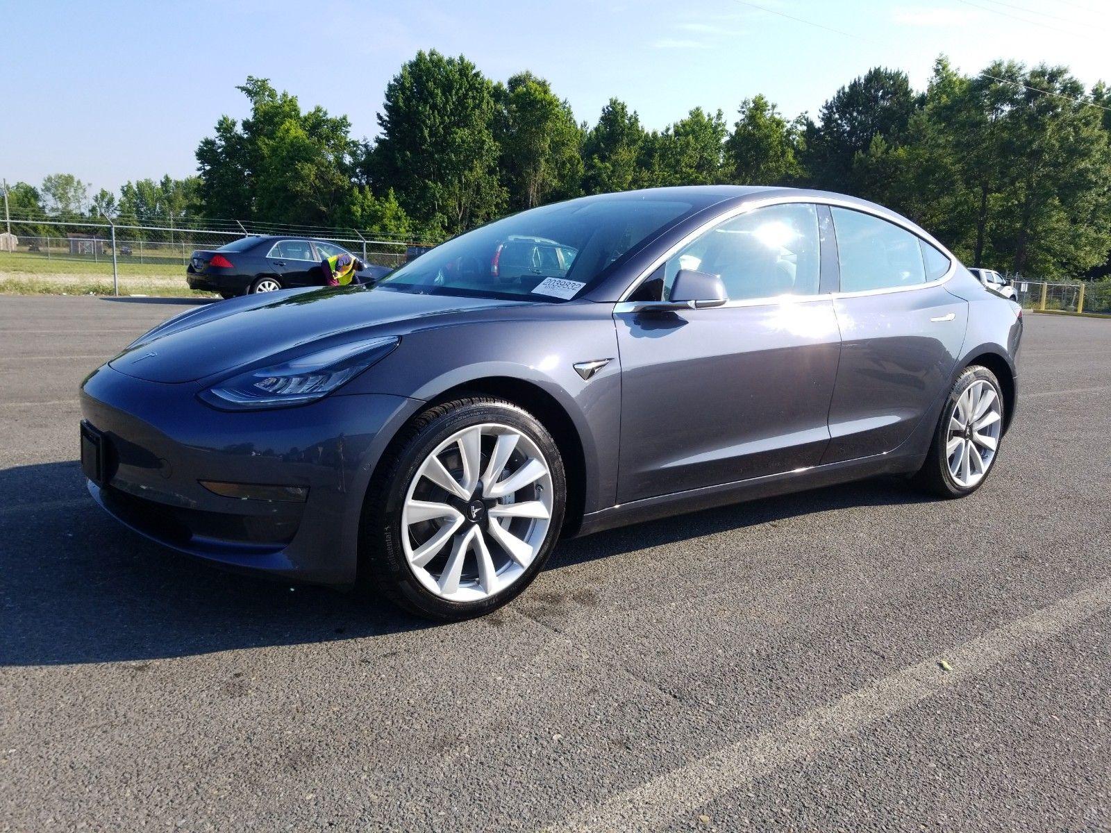 2019 Tesla Model 3 . Lot 99912772974 Vin 5YJ3E1EA7KF315016