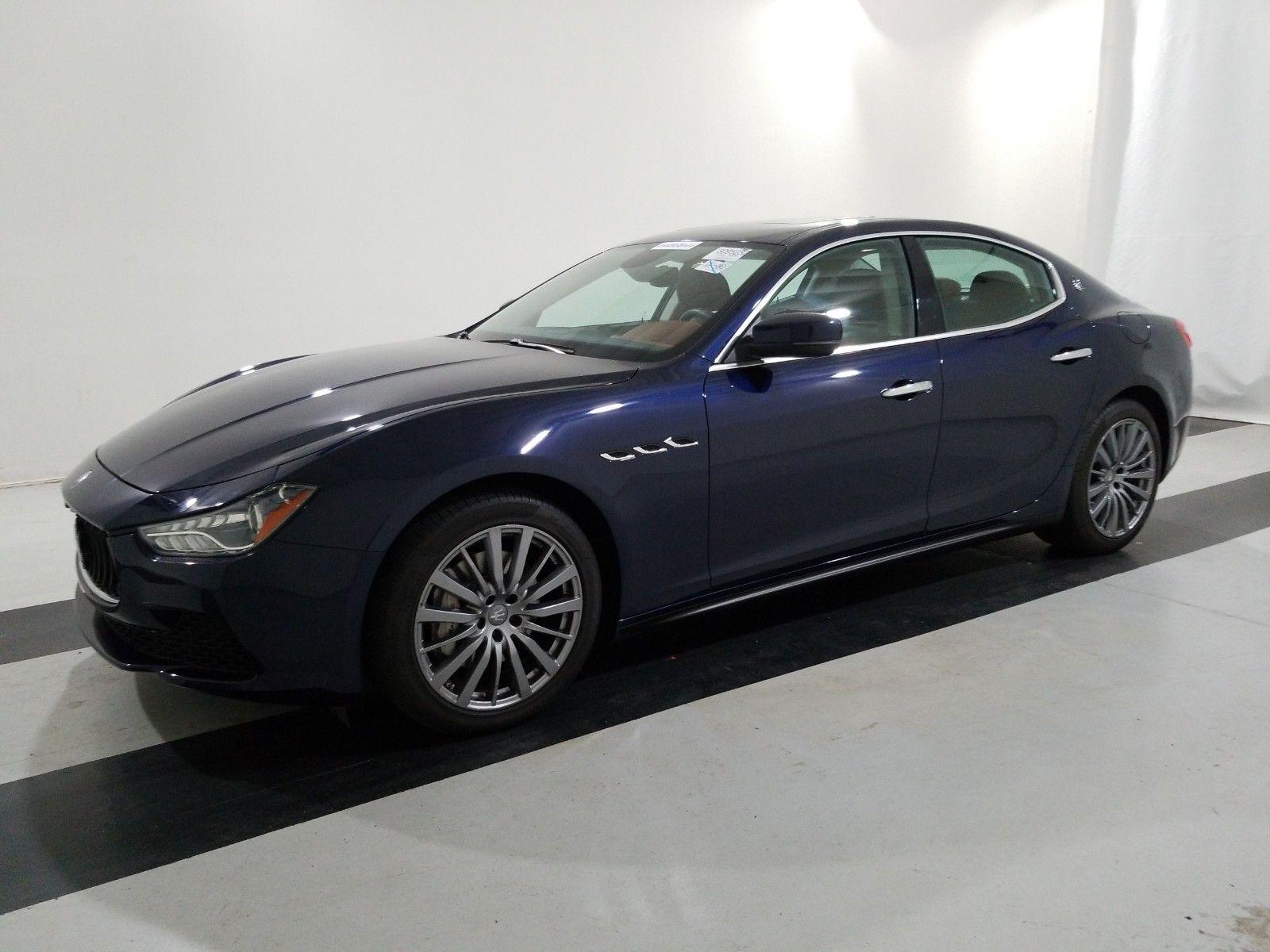 2017 Maserati Ghibli 3.0. Lot 99913814749 Vin ZAM57XSA8H1223856