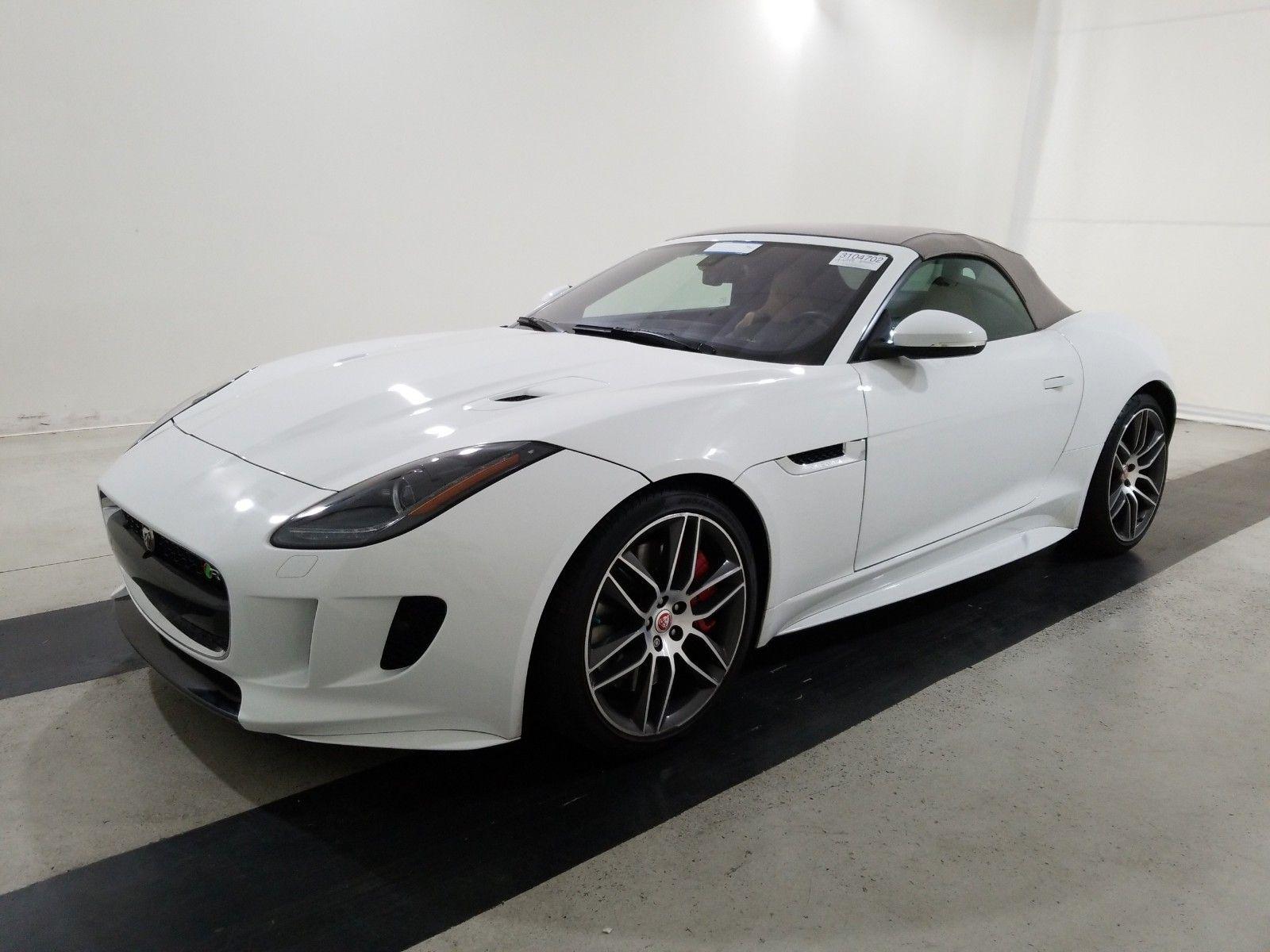 2017 Jaguar F-type 5.0. Lot 99913828310 Vin SAJWJ6HL6HMK39938