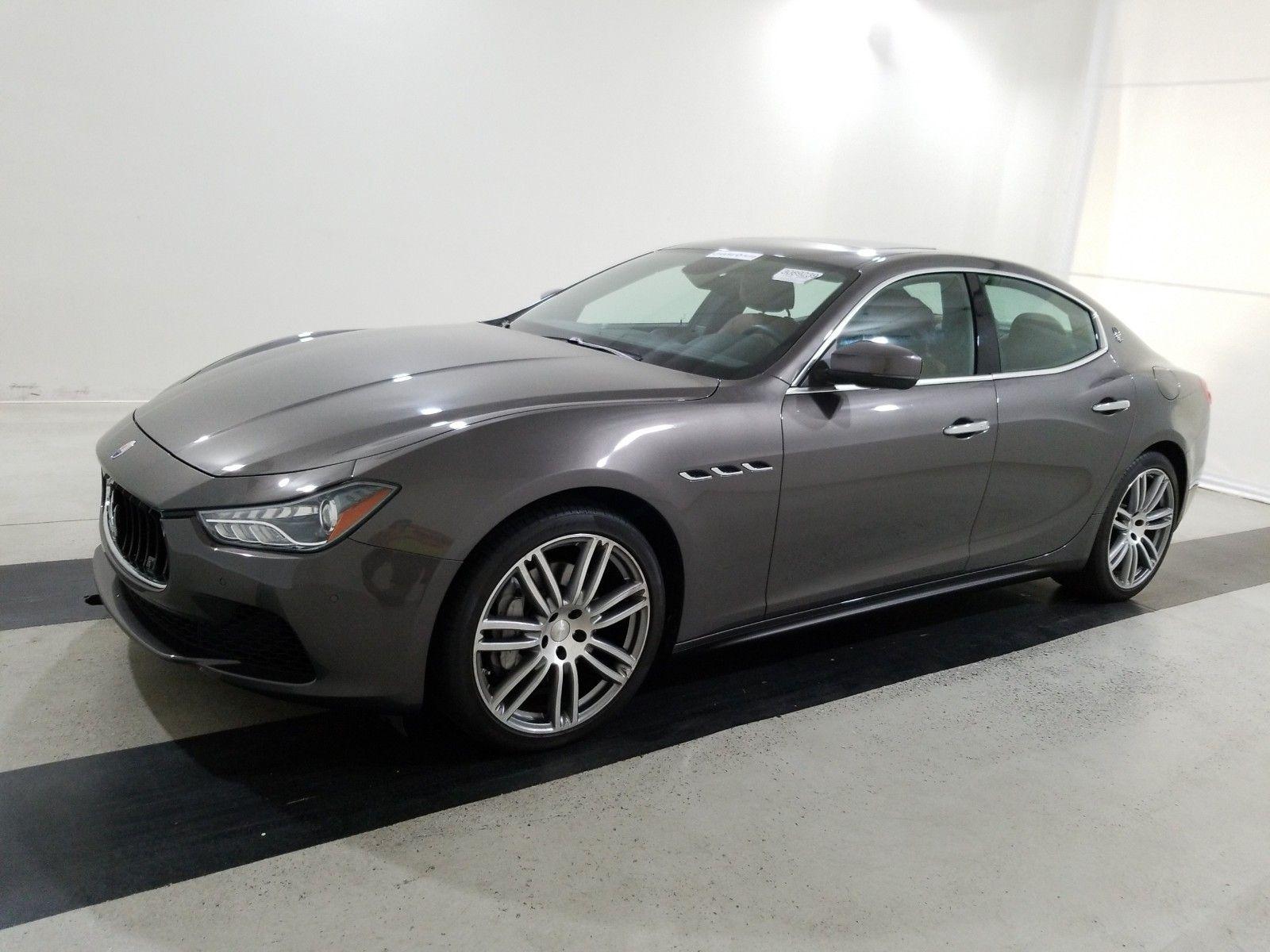 2017 Maserati Ghibli 3.0. Lot 99913806551 Vin ZAM57XSA2H1213713