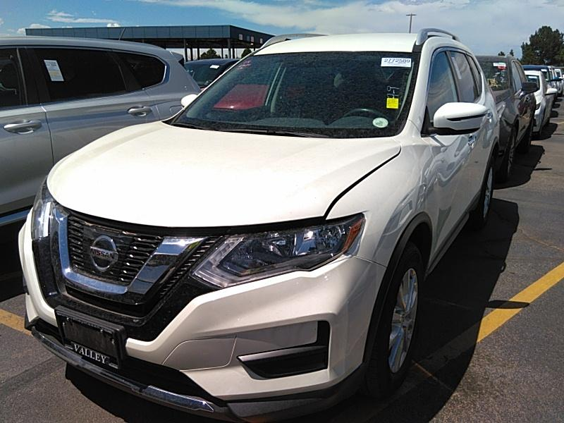 2017 Nissan Rogue 2.5. Lot 99913264453 Vin 5N1AT2MV8HC831863