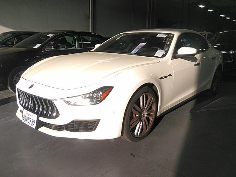 2019 Maserati Ghibli 3.0. Lot 999200633924 Vin ZAM57YSA7K1308670