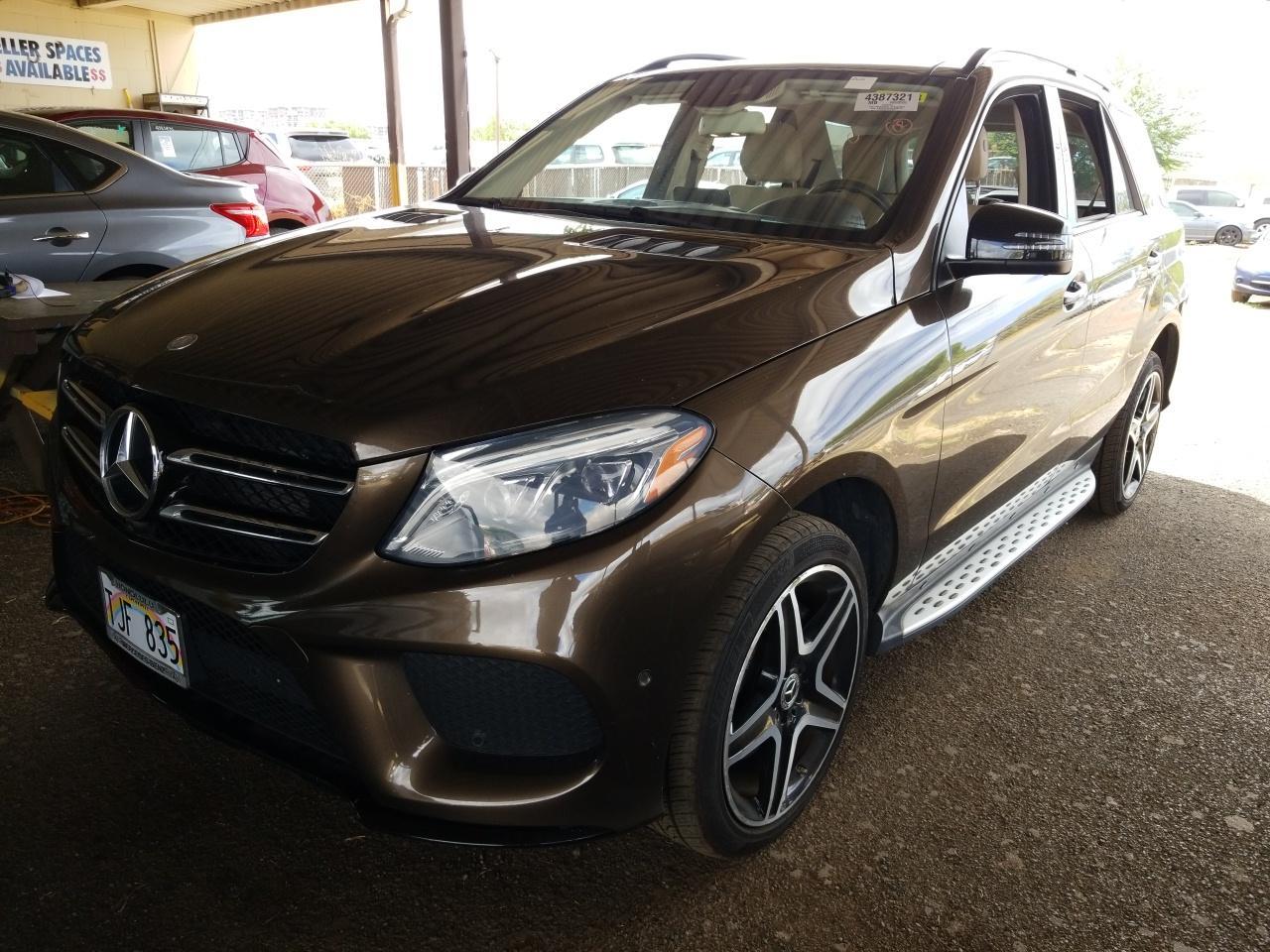2017 Mercedes-benz Gle 3.5. Lot 99911017581 Vin 4JGDA5JB5HA938315