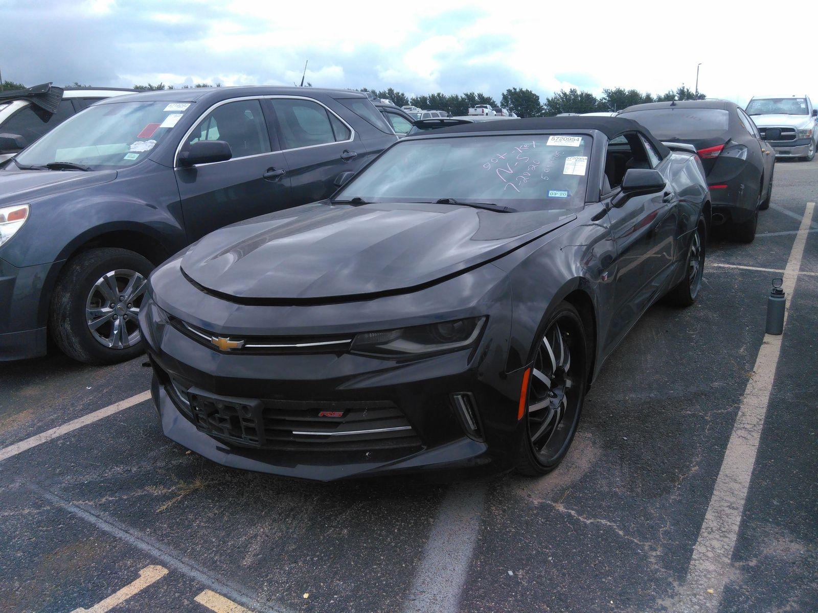2018 Chevrolet Camaro 3.6. Lot 99918133202 Vin 1G1FB3DS5J0162587