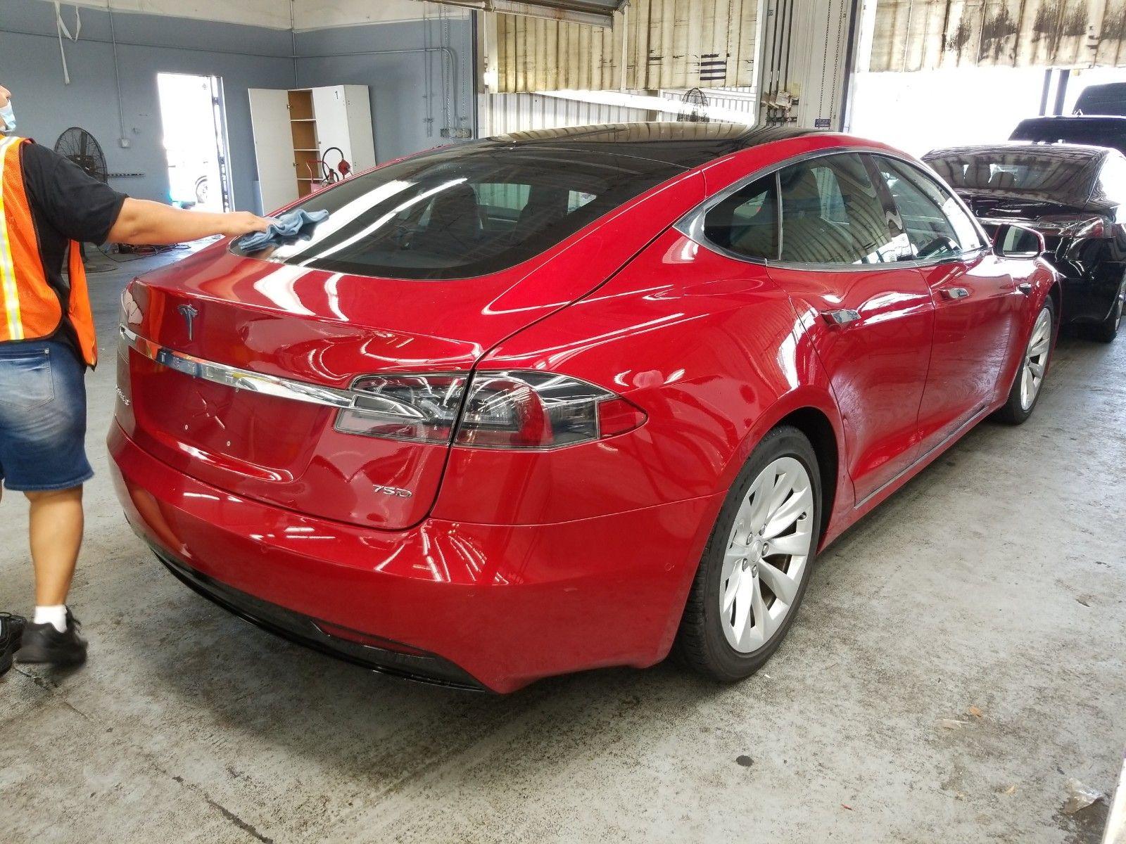 2018 Tesla Model s . Lot 99913850101 Vin 5YJSA1E20JF281189