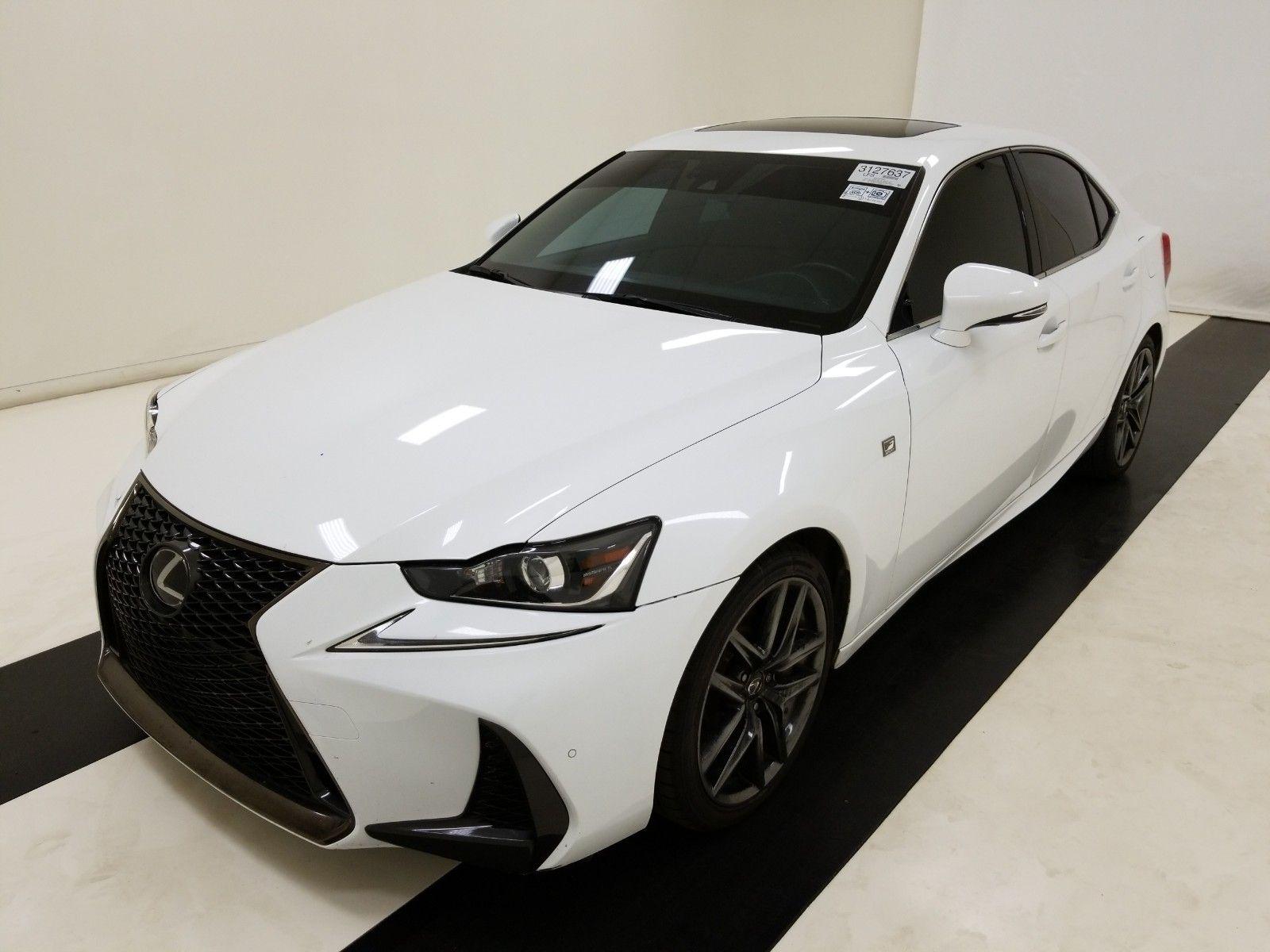 2018 Lexus Is 2.0. Lot 99913858285 Vin JTHBA1D2XJ5080322