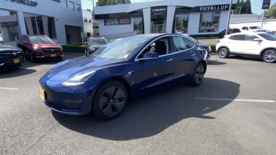 2019 TESLA MODEL 3 4X2 STD RANGE