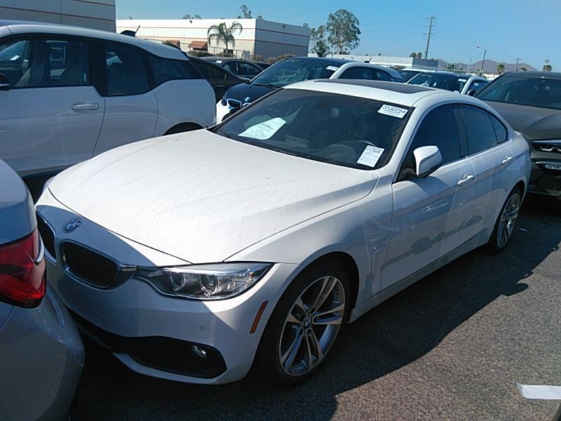 2017 BMW 430i 2.0. Lot 99913862548 Vin WBA4F7C55HG438268