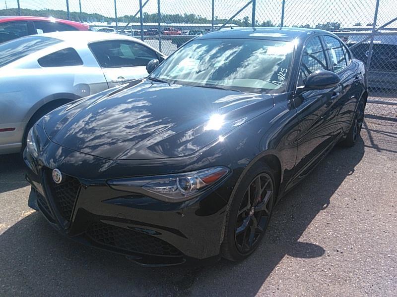 2019 Alfa romeo Giulia 2.0. Lot 99913674476 Vin ZARFANANXK7615721
