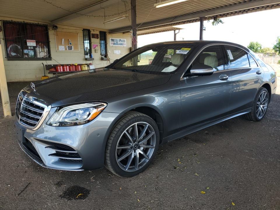 2018 Mercedes-benz S class 4.0. Lot 99911022043 Vin WDDUG8DB0JA382085