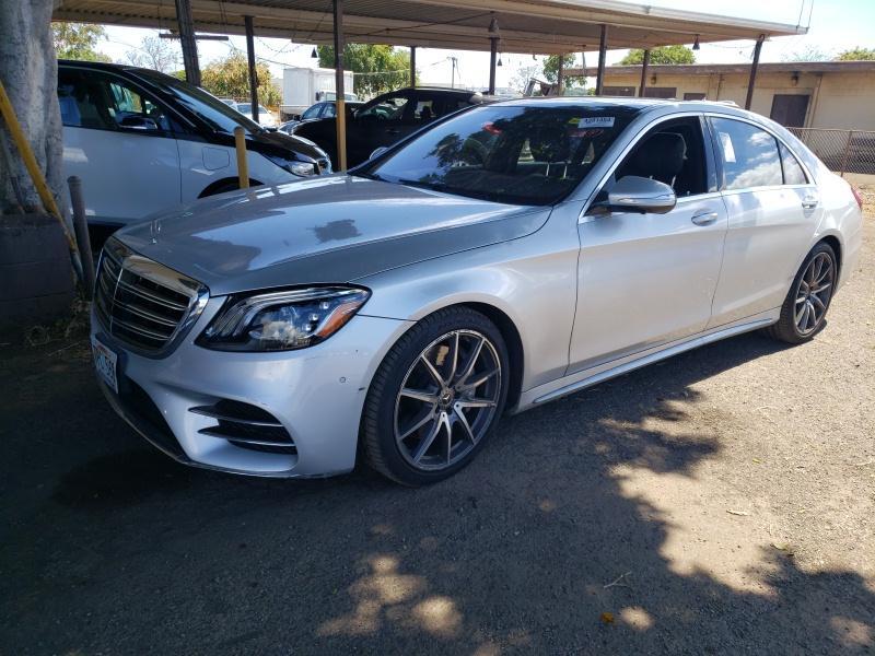 2018 Mercedes-benz S class 3.0. Lot 99911022678 Vin WDDUG6GB7JA363419