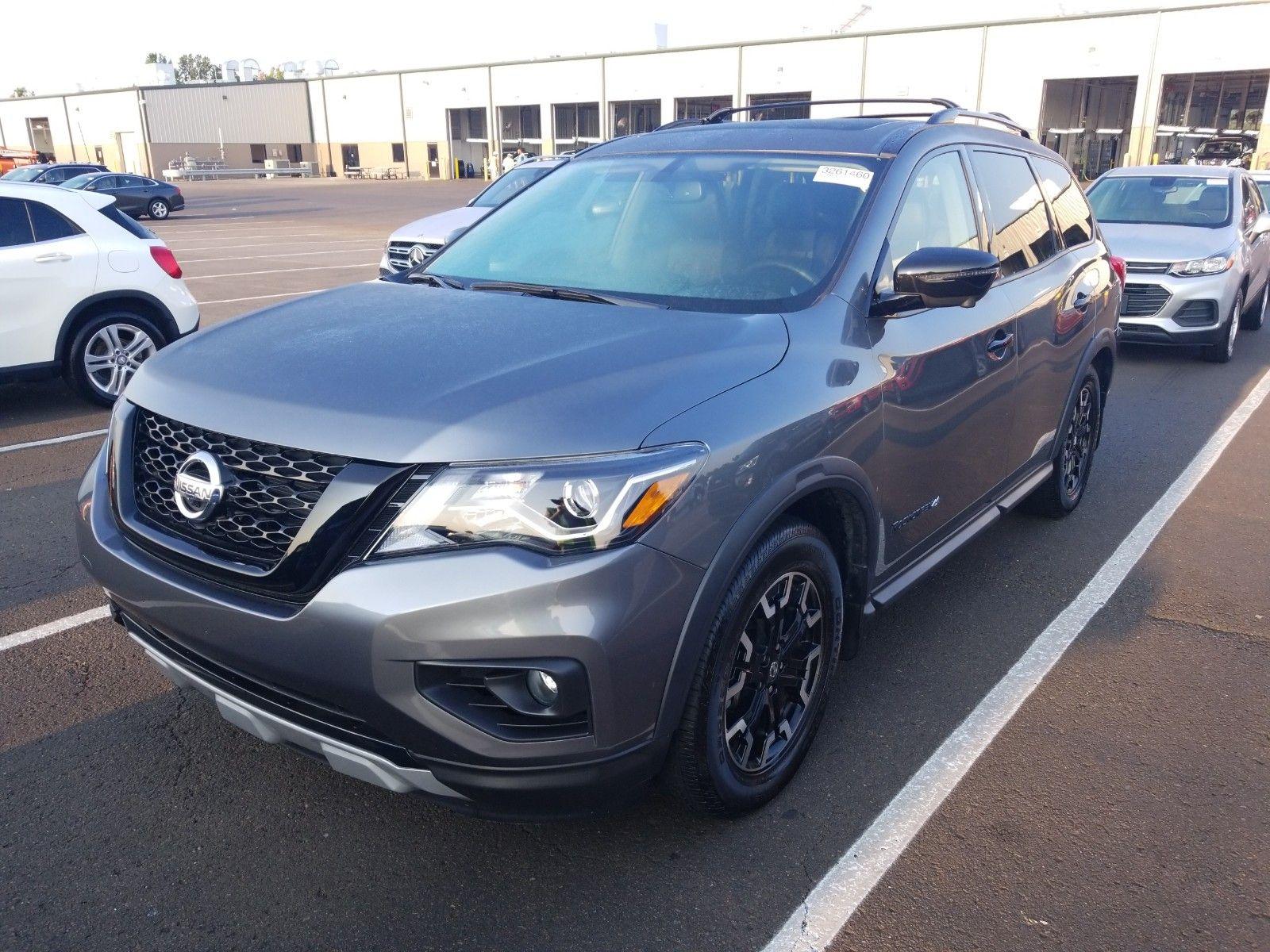 2019 Nissan Pathfinder 3.5. Lot 99913914087 Vin 5N1DR2MN3KC638491