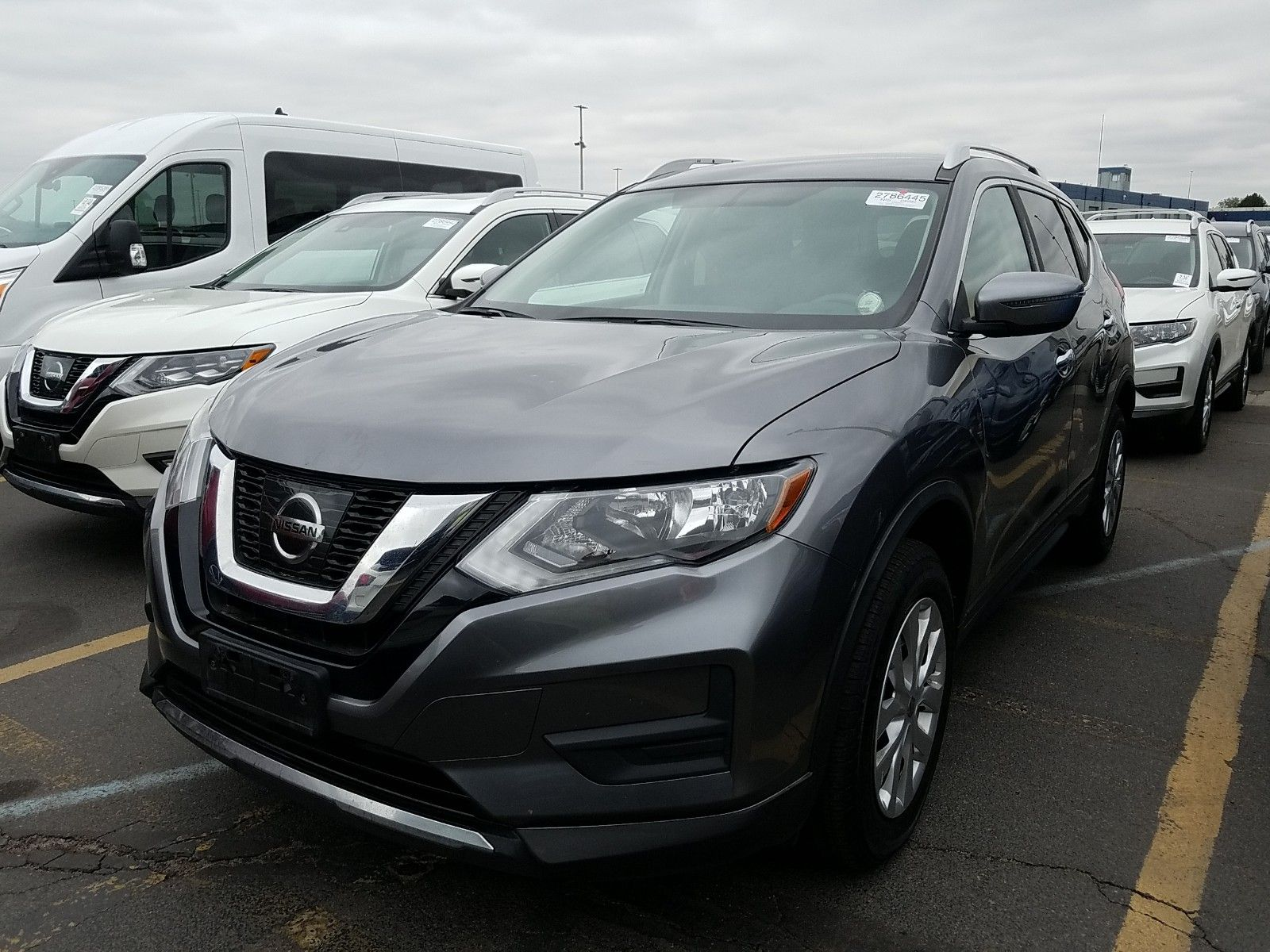 2017 Nissan Rogue 2.5. Lot 99913281893 Vin KNMAT2MV1HP580925