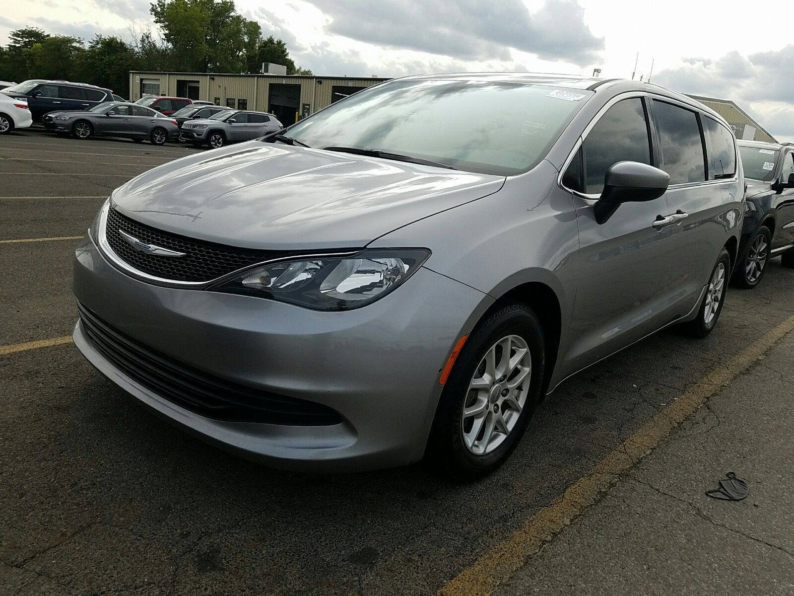 2018 Chrysler Pacifica 3.6. Lot 99913900930 Vin 2C4RC1CGXJR305526