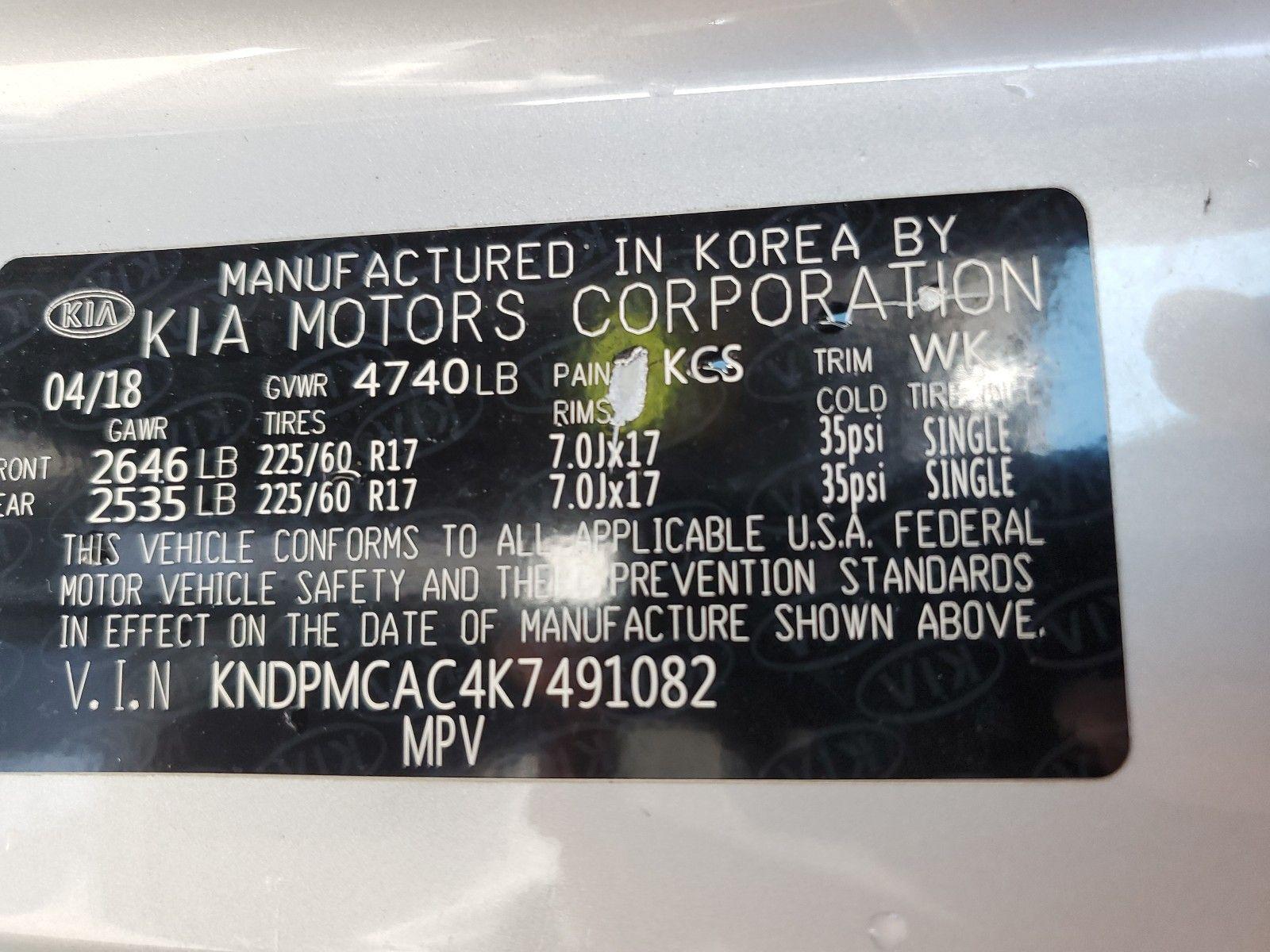 2019 KIA SPORTAGE AWD 4C LX - 14