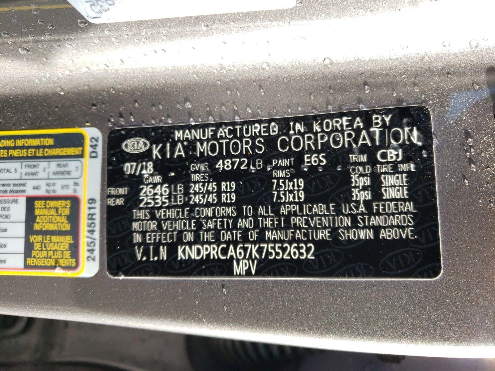 2019 KIA SPORTAGE AWD 4C SX TURBO - 15