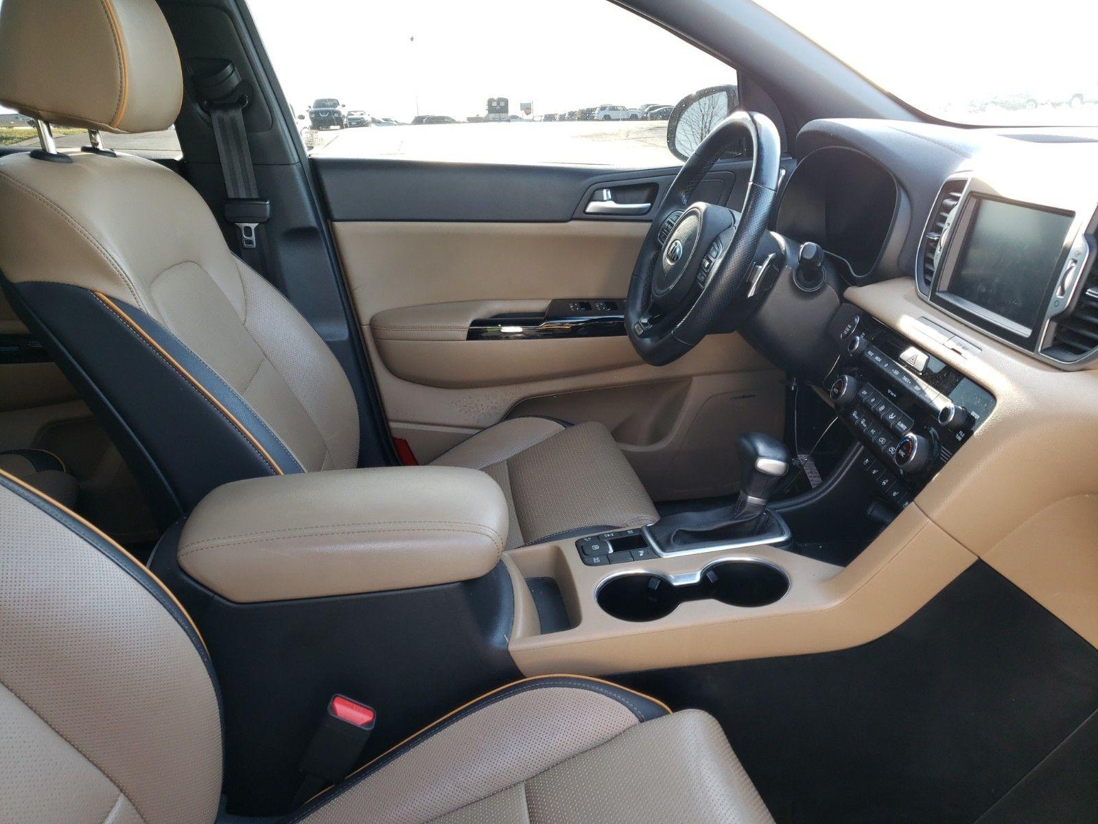 2019 KIA SPORTAGE AWD 4C SX TURBO - 8